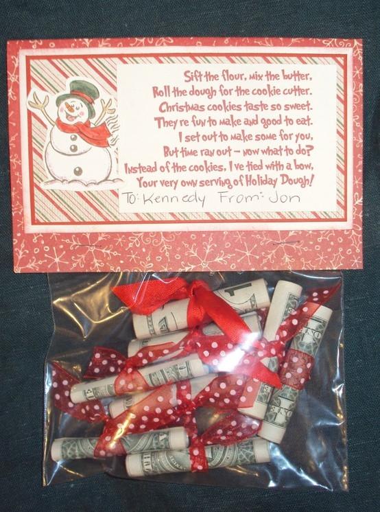 Holiday Gift Giving Ideas  Christmas Dough Gift Idea loves