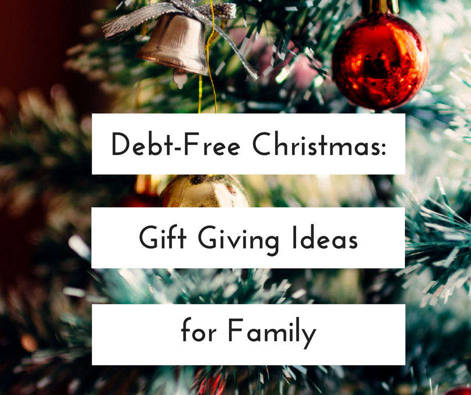 Holiday Gift Giving Ideas  Smart Cents Mom Blog Archive Debt Free Christmas