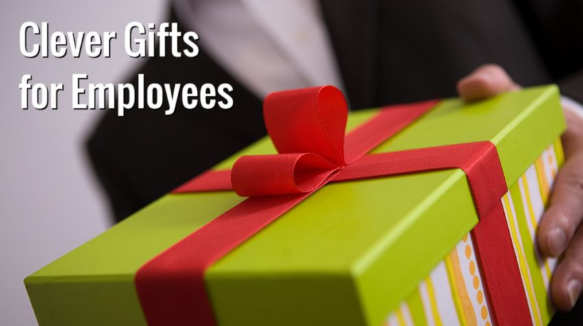 Holiday Gift Ideas For Staff  Clever Holiday Gift Ideas for Employees Small Business