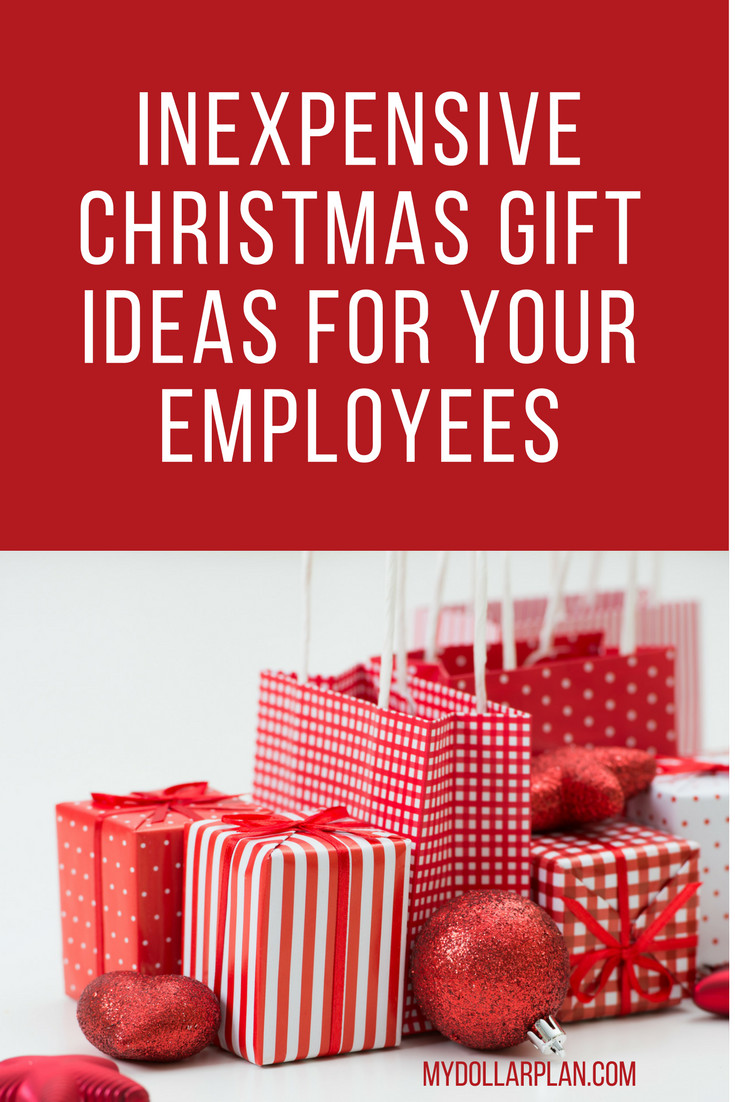 Holiday Gift Ideas For Staff  Inexpensive Christmas Gifts for Employees