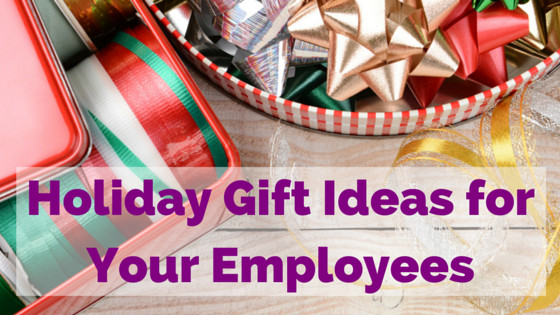 Holiday Gift Ideas For Staff  Holiday Gift Ideas for Employees