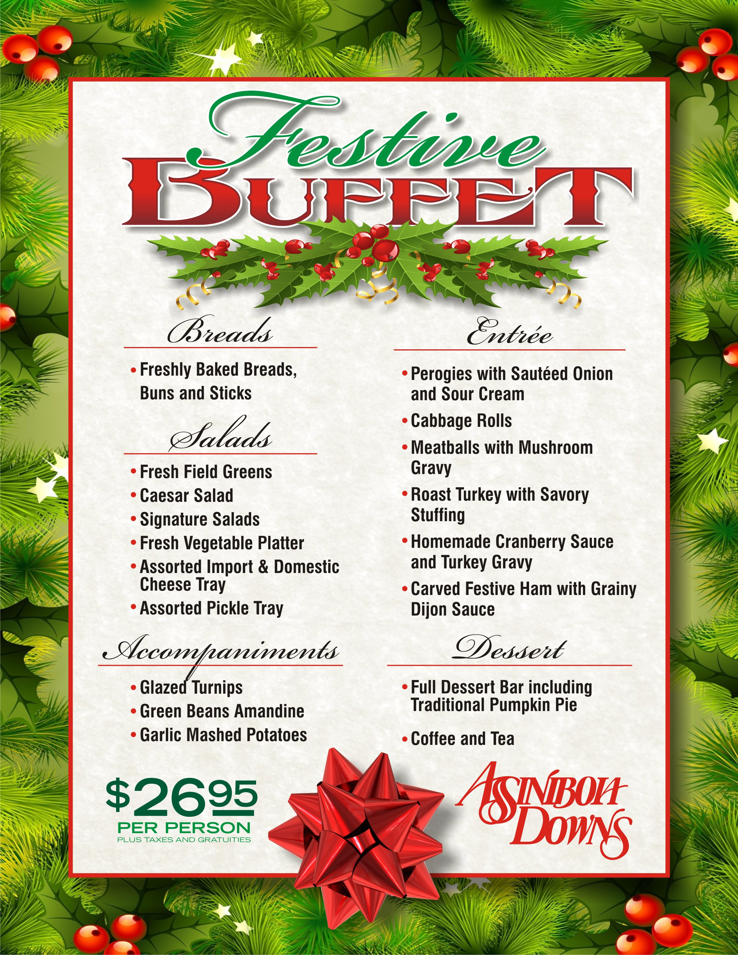 Assiniboia Downs Buffet
