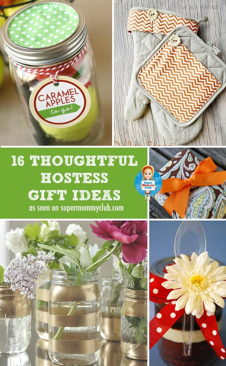 Holiday Party Hostess Gift Ideas  Christmas Hostess Gift Ideas Homemade Gifts that Will