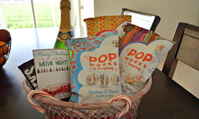 Holiday Party Hostess Gift Ideas  Movie Night Holiday Party Hostess Gift Idea ⋆ Makobi Scribe