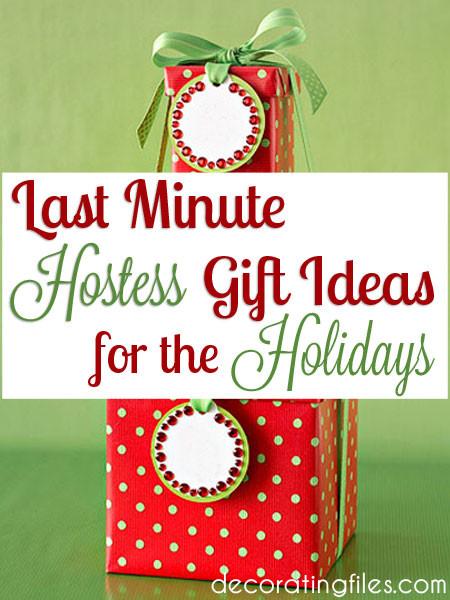 Holiday Party Hostess Gift Ideas  Last Minute Hostess Gift Ideas for the Holidays