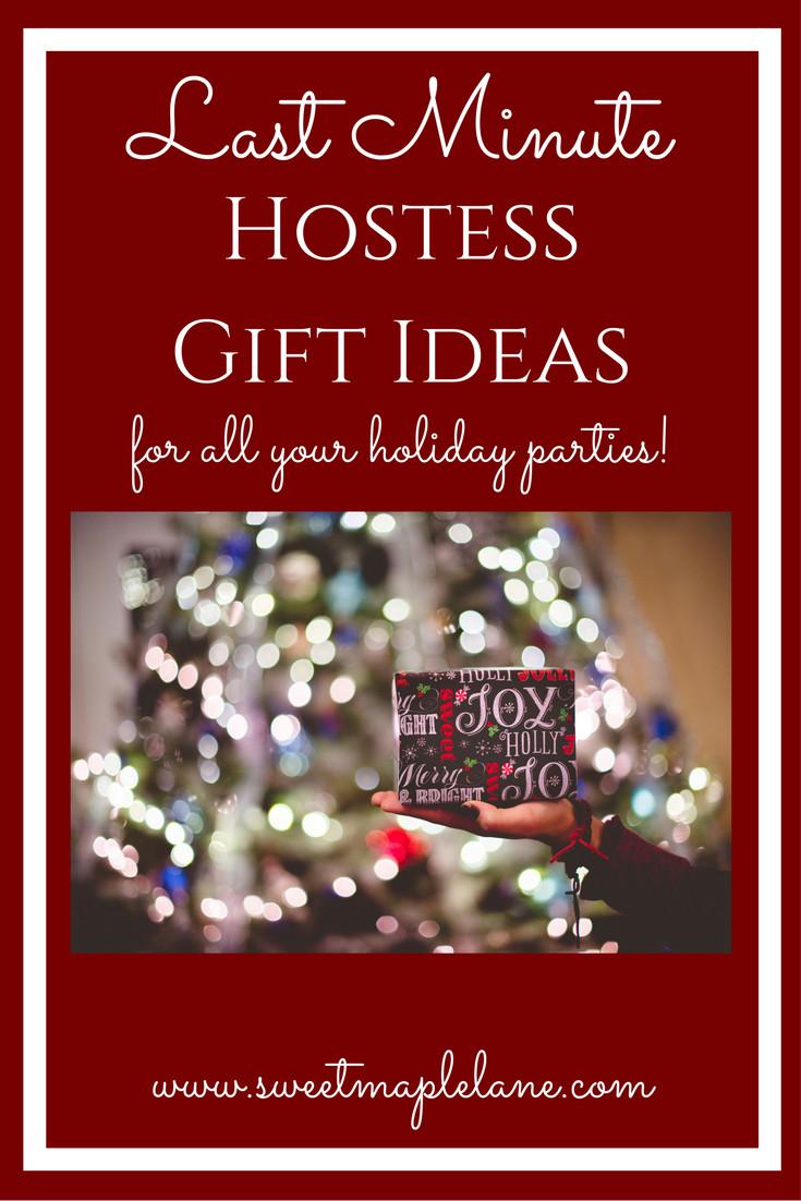 Holiday Party Hostess Gift Ideas  Hostess Gift Ideas Sweet Maple Lane