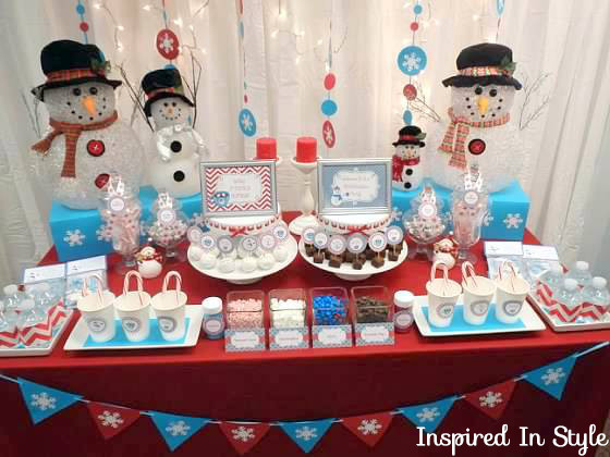 Holiday Party Ideas For Small Office  Baby It's Cold Outside – Inspired In Style
