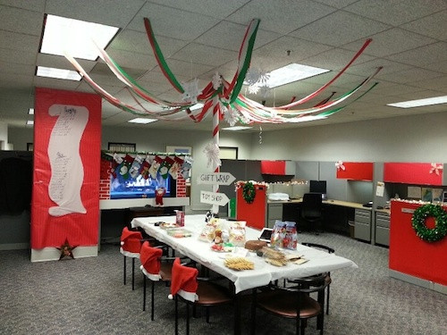 Holiday Party Ideas For Small Office  Holiday fice Decorating Ideas Get Smart WorkSpaces