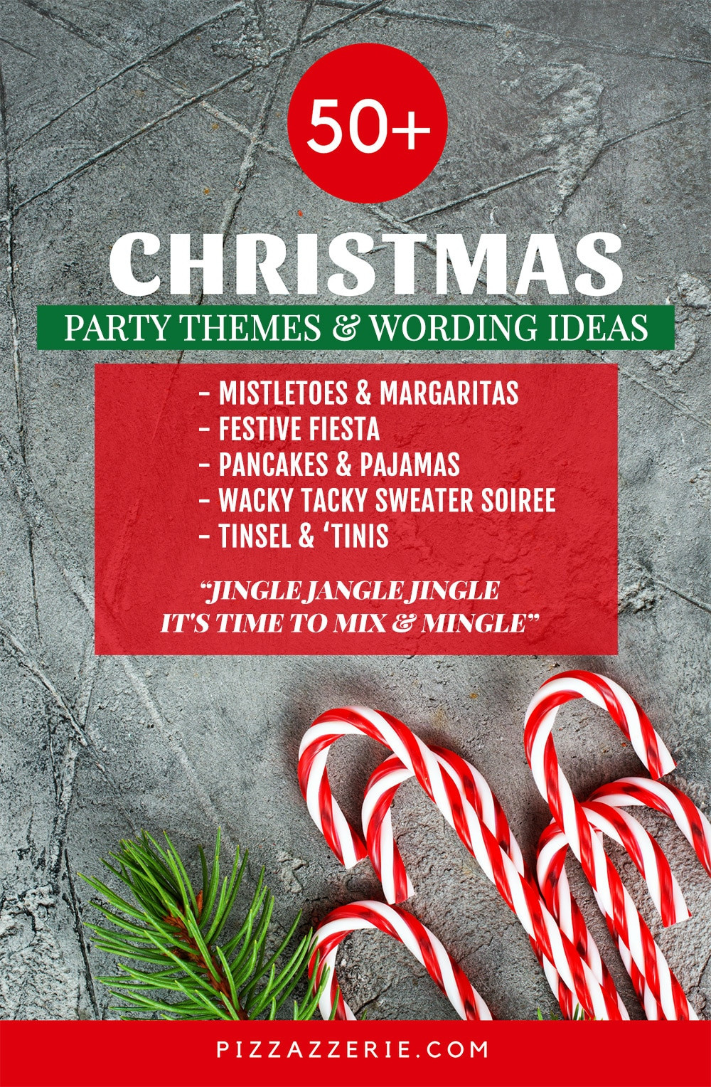 Holiday Party Names Ideas  50 CHRISTMAS PARTY THEMES & CLEVER INVITATION WORDING