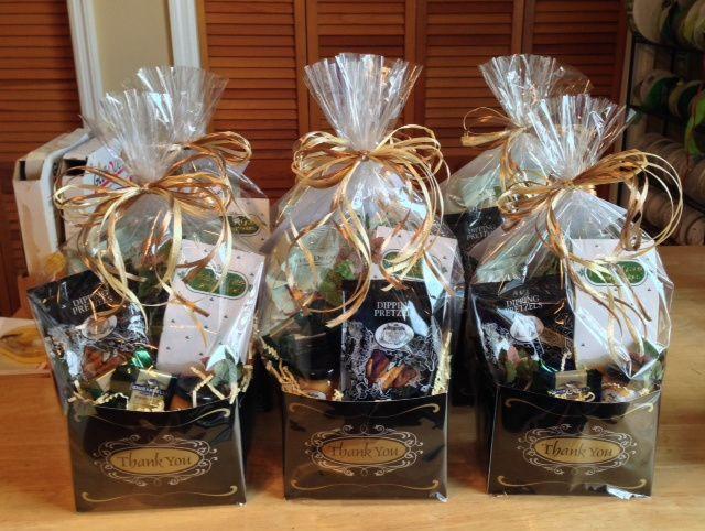 Homemade Thank You Gift Basket Ideas  78 ideas about Thank You Gift Baskets on Pinterest