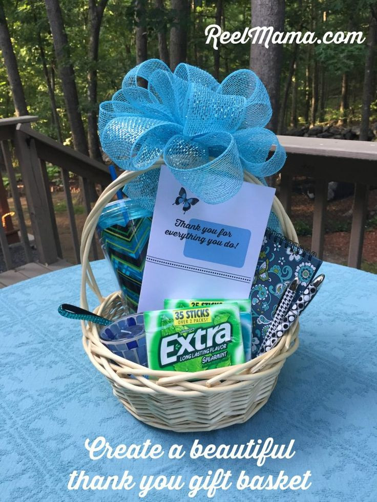 Homemade Thank You Gift Basket Ideas  17 Best ideas about Thank You Gift Baskets on Pinterest