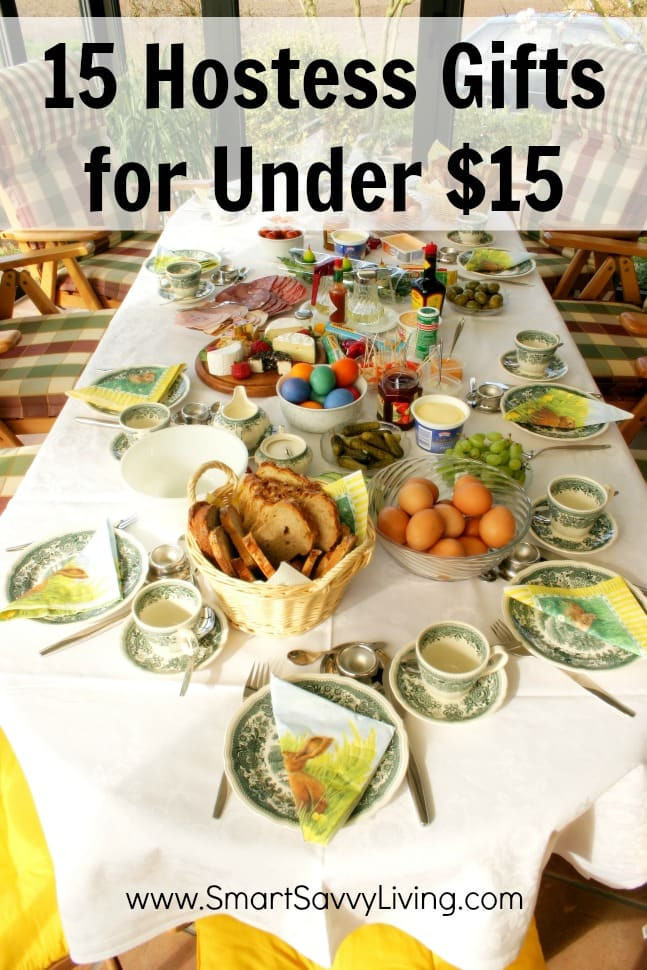 Hostess Gifts Ideas For Dinner Party  15 Hostess Gifts for Under $15