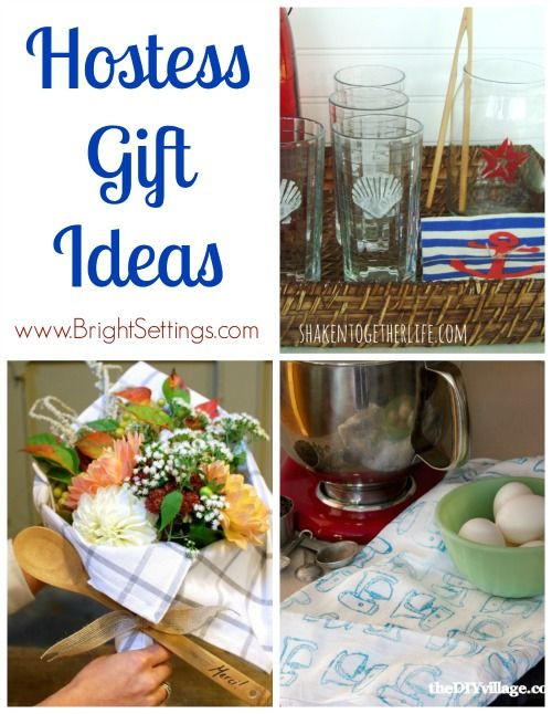 Hostess Gifts Ideas For Dinner Party  175 best images about Gift ideas Token of Appreciation