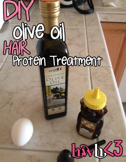 Hot Oil Hair Treatment DIY  DIY Olive Oil Hair Treatment For Home