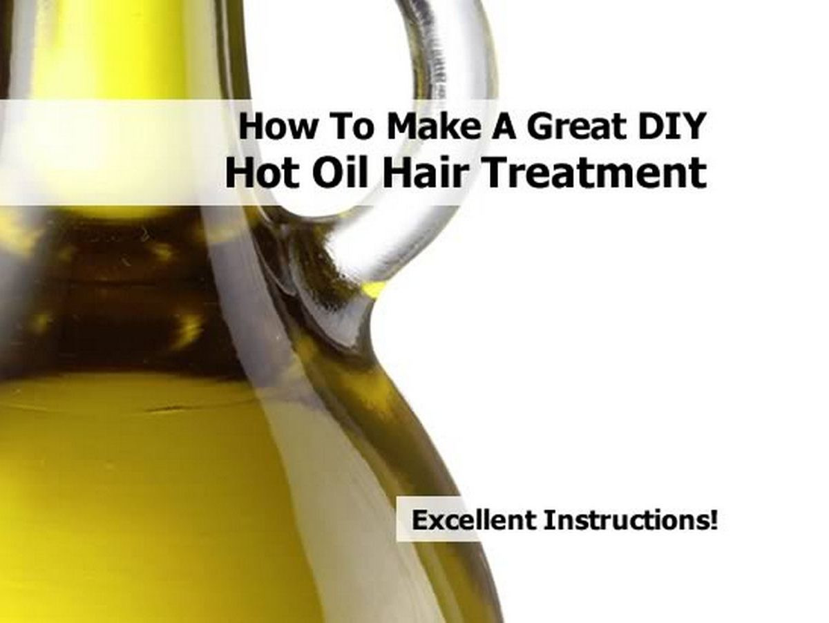 Hot Oil Hair Treatment DIY  How To Make A Great DIY Hot Oil Hair Treatment