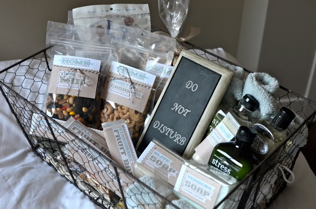 House Guest Gift Basket Ideas  Be our guest Fun ideas for Guest baskets