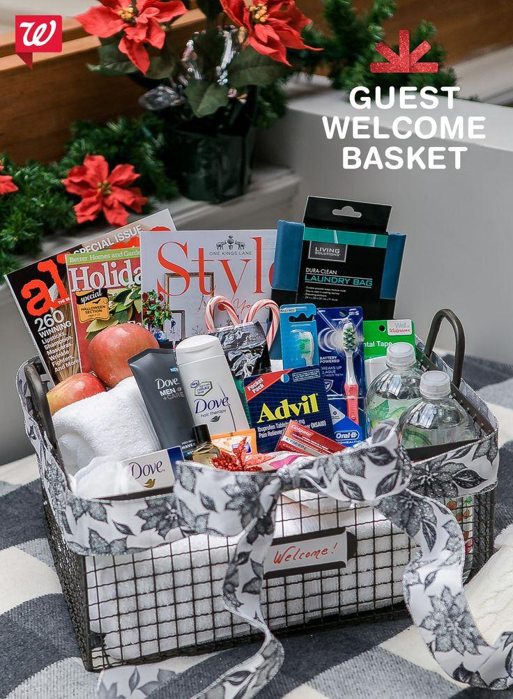 House Guest Gift Basket Ideas  Best 25 Guest wel e baskets ideas on Pinterest