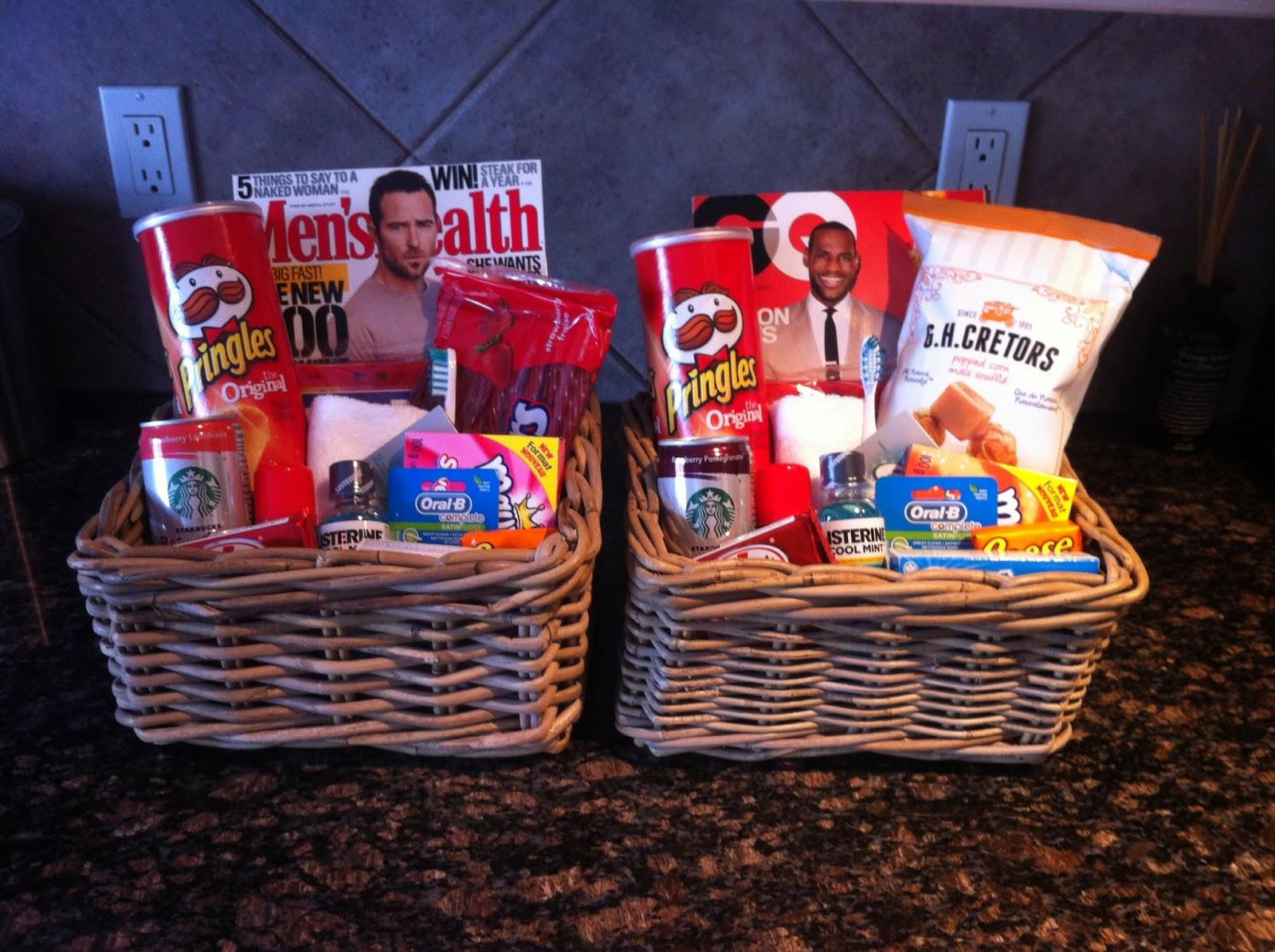 House Guest Gift Basket Ideas  Life Happens House Guest Wel e Basket