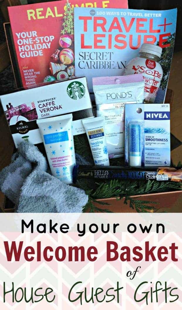House Guest Gift Basket Ideas  Make a Wel e Basket of House Guest Gifts