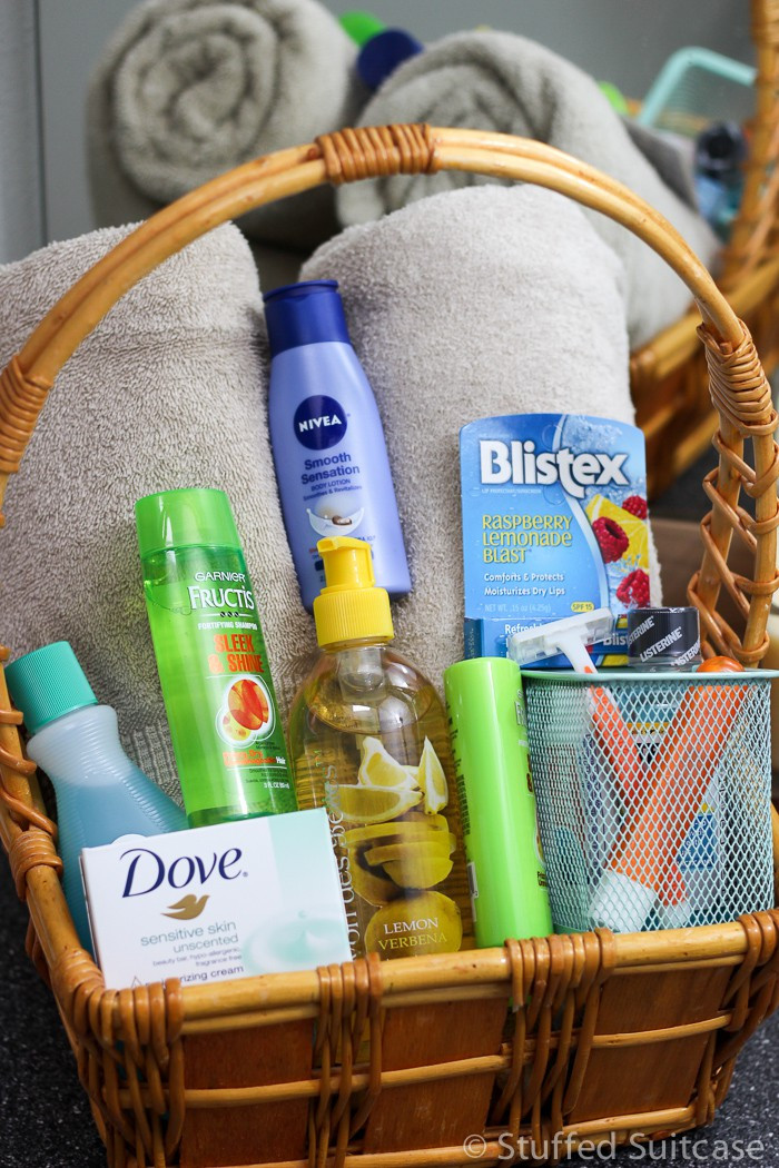House Guest Gift Basket Ideas  Tips for Preparing Your Guest Room and a Guest Gift Basket