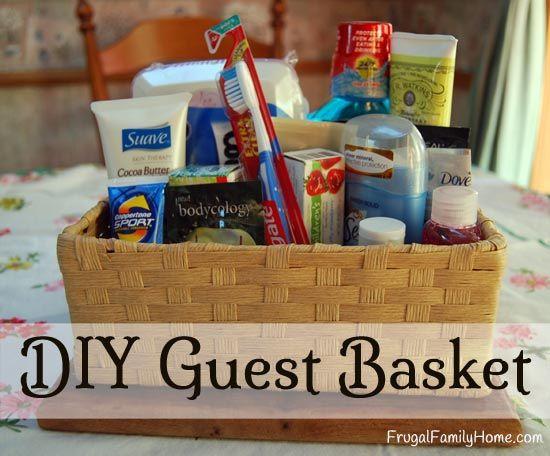House Guest Gift Basket Ideas  Best 20 Guest Basket ideas on Pinterest