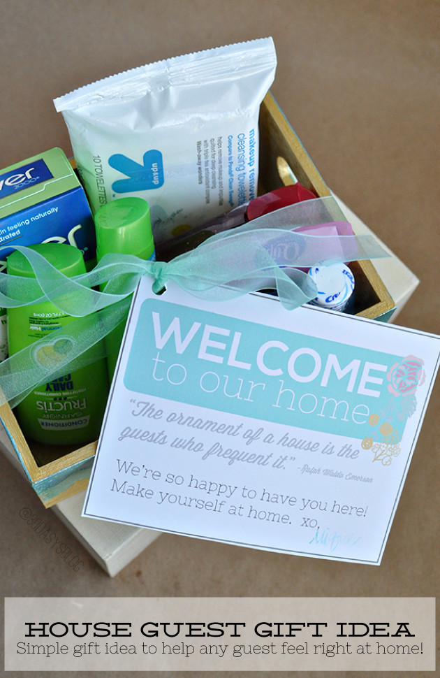 House Guest Gift Basket Ideas  Gift Ideas for the House Guest
