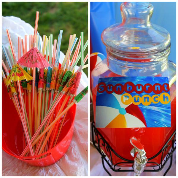 Ideas For Beach Party Theme  Kara s Party Ideas Beach Ball Birthday Party Supplies