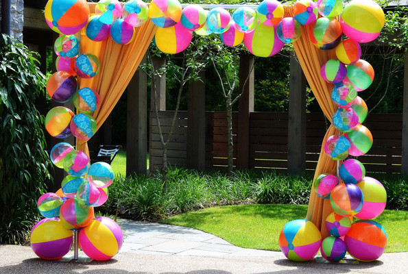 Ideas For Beach Party Theme  Say Aloha to Summer with this Beach Themed Party Evite