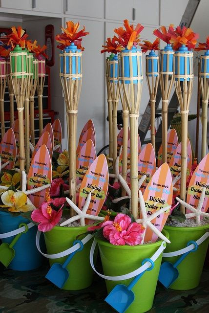 Ideas For Beach Party Theme  Teen Beach Party on Pinterest
