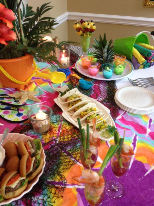 Ideas For Beach Party Theme  Best 25 Indoor beach party ideas on Pinterest