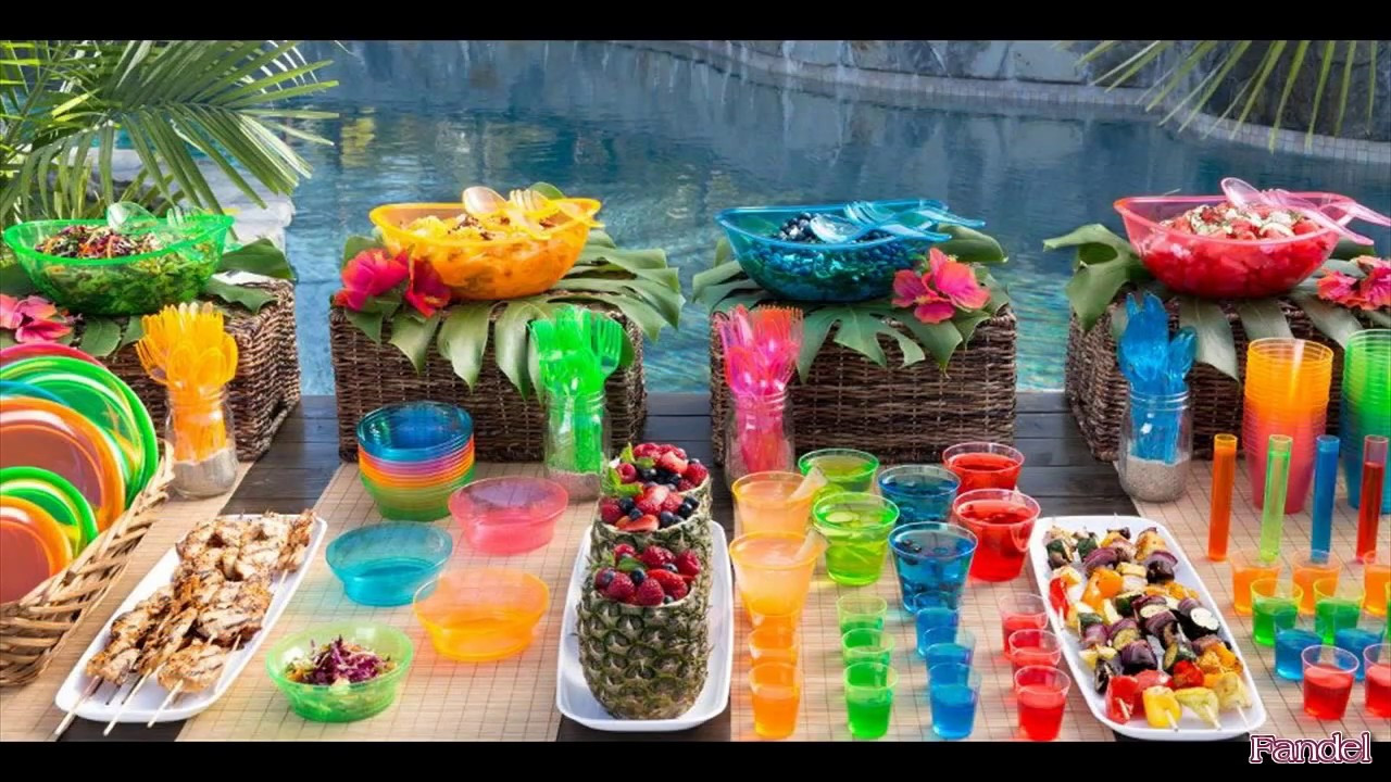 Ideas For Beach Party Theme  Beach Party Decoration Ideas for Adults