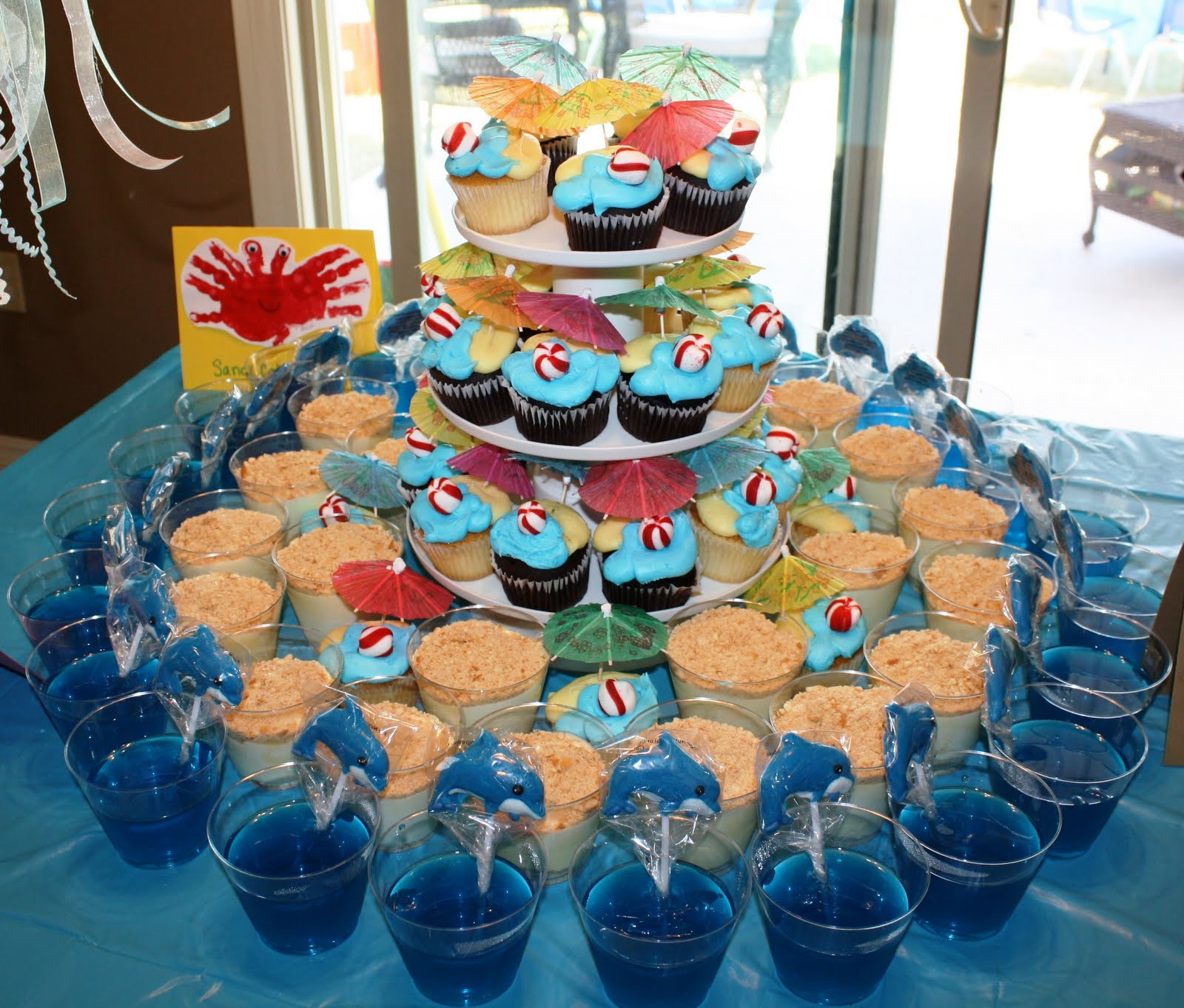 Ideas For Beach Party Theme  Lilly & Reid s Life Birthday Party Details