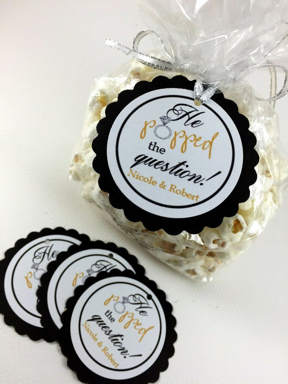 Ideas For Engagement Party Gifts  20 Engagement Party Tags Engagement Party Hang Tags