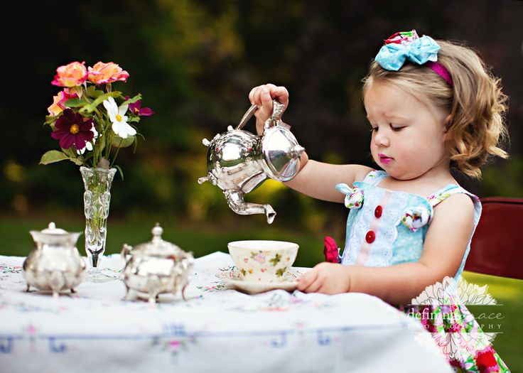 Ideas For Little Girls Tea Party  It Wasn't Very Civil You To Sit Down Without Being