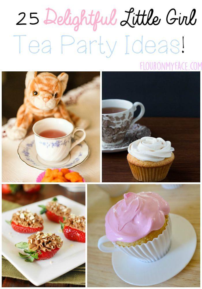 Ideas For Little Girls Tea Party  25 Little Girl Tea Party Ideas Flour My Face