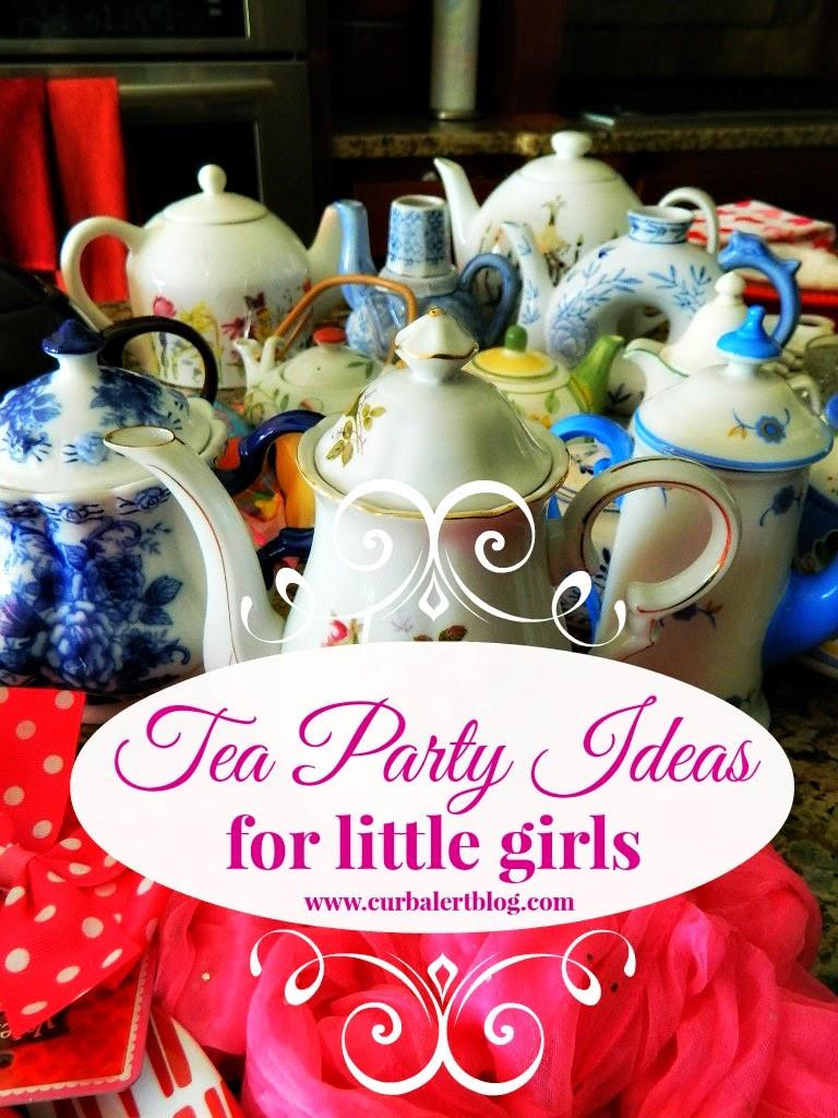 Ideas For Little Girls Tea Party  Curb Alert Tea Party Ideas for Little Girls
