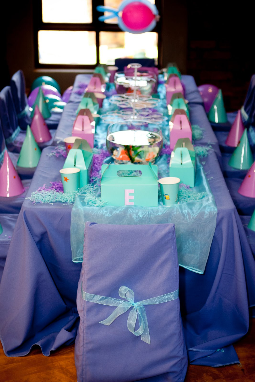 Ideas For Little Mermaid Birthday Party  blog hwtm