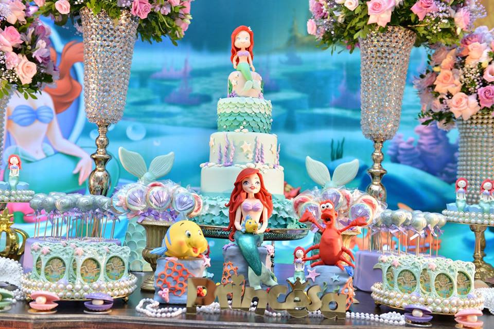 Ideas For Little Mermaid Birthday Party  Updated Free Printable Ariel the Little Mermaid