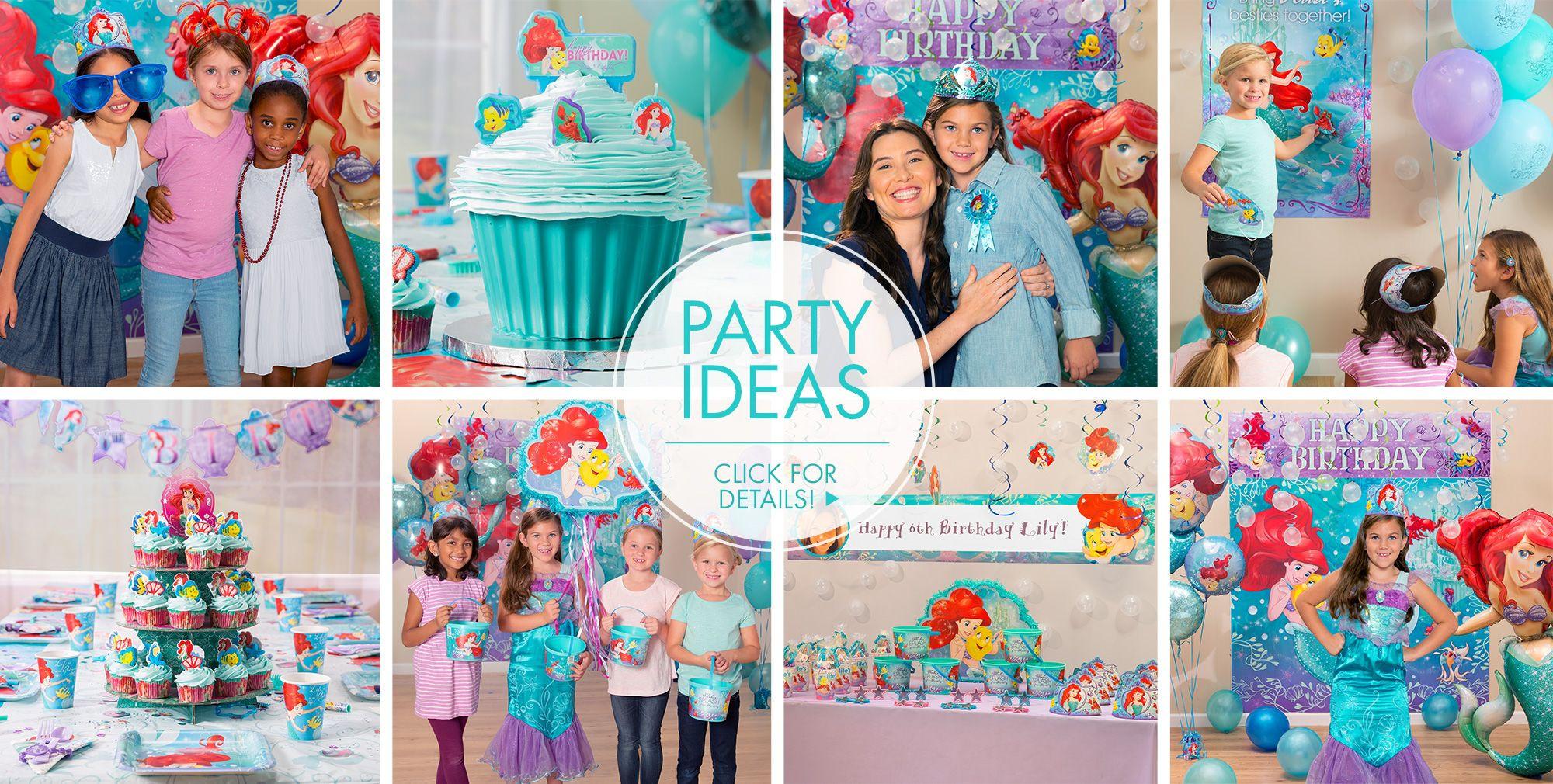 Ideas For Little Mermaid Birthday Party  Little Mermaid Party Supplies Little Mermaid Birthday