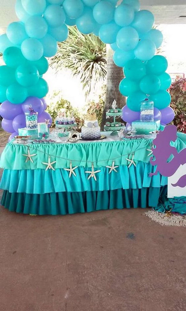 Ideas For Little Mermaid Birthday Party  20 Fantastic Mermaid Party Ideas For Creative Juice