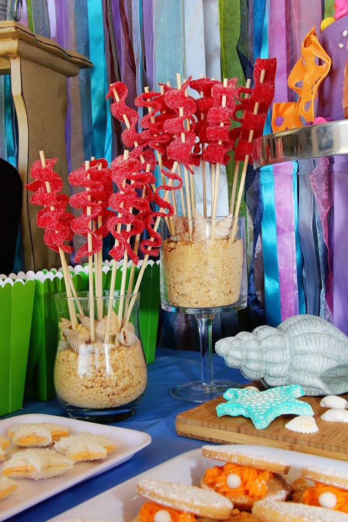 Ideas For Little Mermaid Birthday Party  Kara s Party Ideas Ariel The Little Mermaid Birthday
