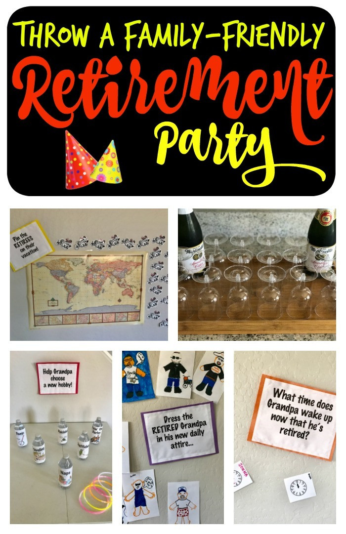 Ideas For Retirement Party  Family Friendly Retirement Party Games & Ideas A Mom s Take