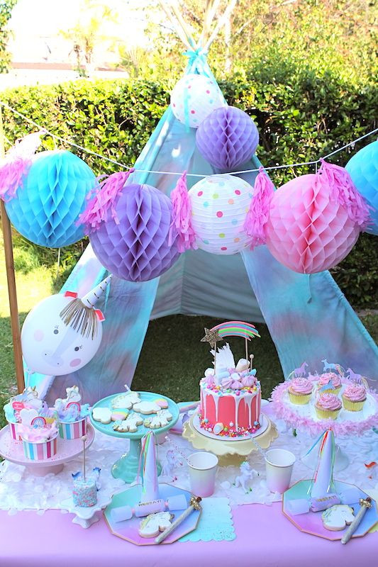 Ideas For Unicorn Party  Image result for outdoor unicorn party