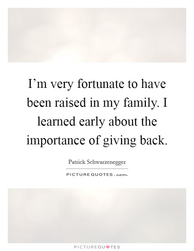 Importance Of Family Quotes  Family Importance Quotes & Sayings