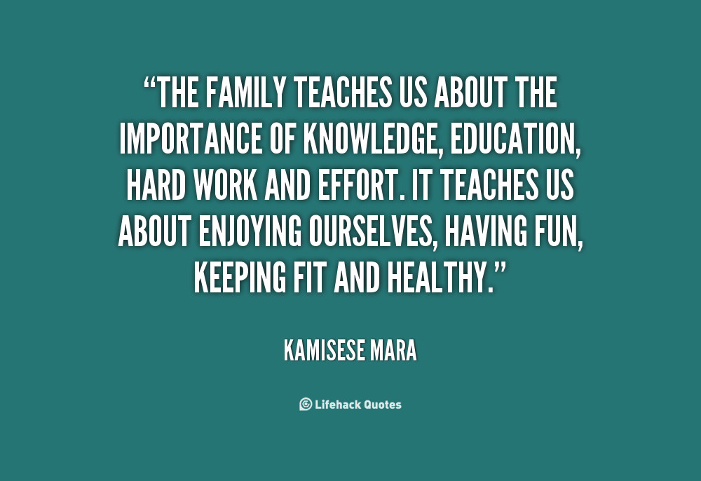 Importance Of Family Quotes  Quotes about Importance of family time 10 quotes