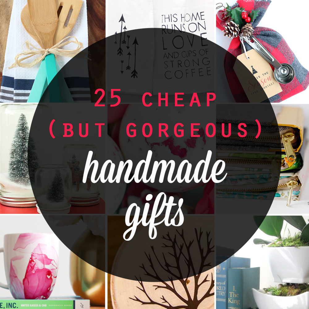 Inexpensive Christmas Gift Ideas  25 cheap but gorgeous  DIY t ideas It s Always Autumn