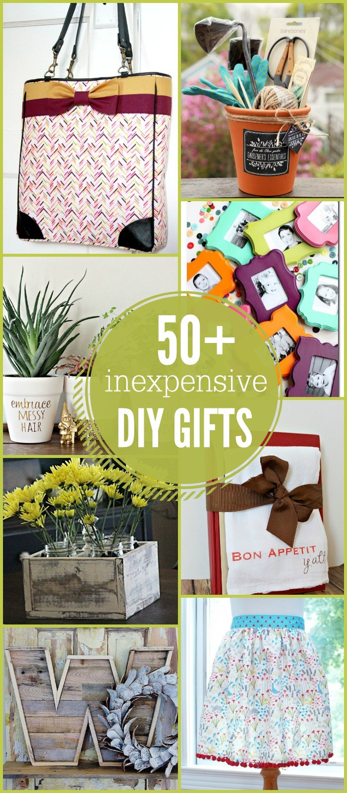 Inexpensive Christmas Gift Ideas  50 Inexpensive DIY Gift Ideas