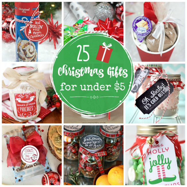 Inexpensive Employee Holiday Gift Ideas  25 Cheap Gifts for Christmas Under $5 Crazy Little Projects