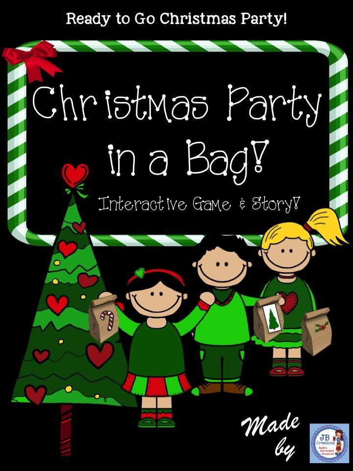 Interactive Holiday Party Ideas  Christmas Party in a Bag Activity interactive holiday