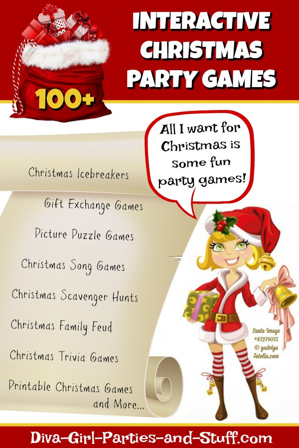 Interactive Holiday Party Ideas  Christmas Party Games for Interactive Yuletide Fun